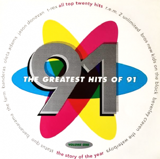 V/A - The Greatest Hits Of 1991 Volume One (LP) (EX-/VG+)